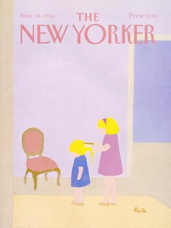 The New Yorker Cover - November 24, 1986