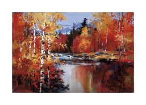 Reflections of Fall by Heighton Brent