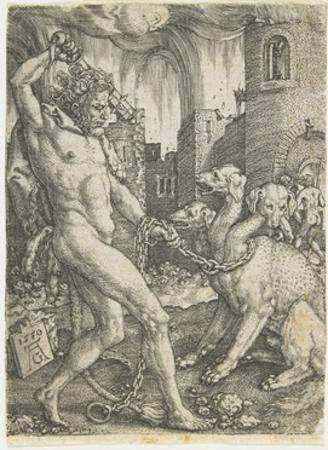 Hercules Chains Cerberus, 1550