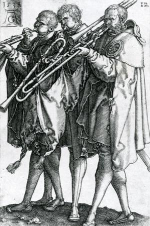 The Brass Players from the Series 'The Great Wedding Dances' 1538