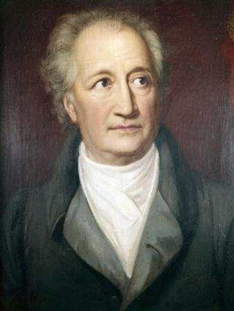Portrait of Goethe by Heinrich Chrisoph Kolbe
