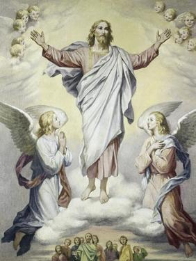 The Ascension by Heinrich Hoffman