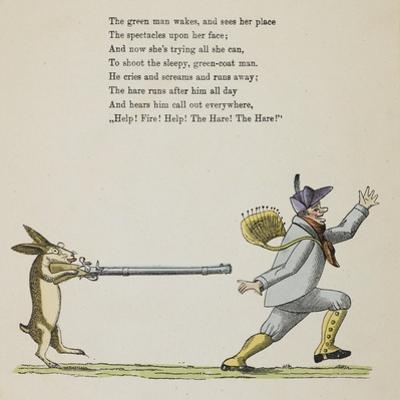 (Story Continued From Page 12). the Hare by Heinrich Hoffmann