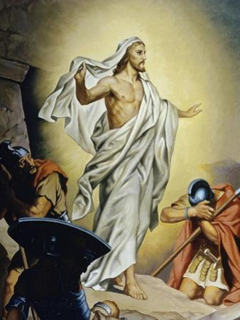The Resurrection of Jesus by Heinrich Hofmann