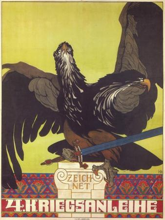 Subscribe to the Fourth War Loan, 1916 by Heinrich Lefler