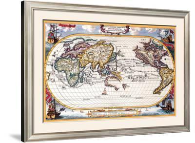 Antique Map, Navigation Map, 1710