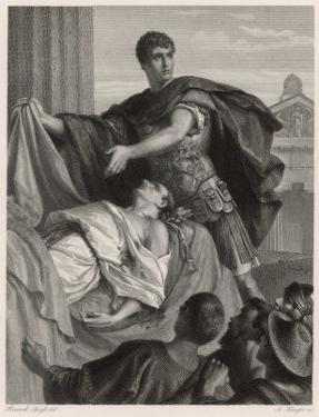 Julius Caesar, Mark Antony's Funeral Oration Over the Corpse of Caesar by Heinrich Spiess