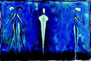 M-2 (Blue) by Heinz Felbermair