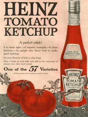 Heinz, Magazine Advertisement, USA, 1910