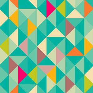 Triangles Seamless Pattern by Heizel