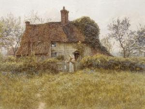 A Cottage at Pinner, Middlesex by Helen Allingham