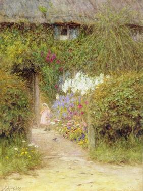 A Cottage at Redlynch by Helen Allingham