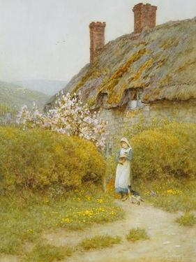 A Dorsetshire Cottage by Helen Allingham