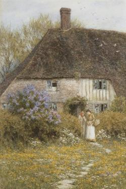 A Kentish Cottage by Helen Allingham