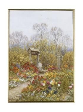 An Old Well, Brook, Surrey by Helen Allingham