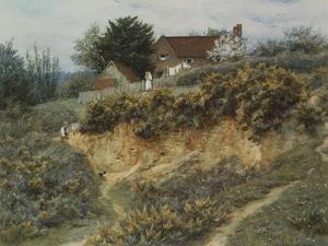 At Sandhills, Witley by Helen Allingham