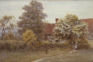 Blake's House, Hampstead Heath by Helen Allingham