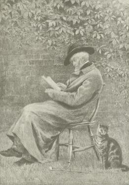 Carlyle at Chelsea by Helen Allingham