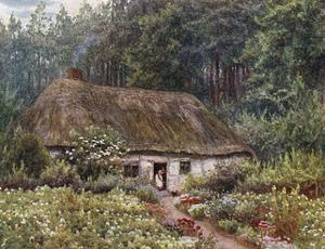 Cottage at Wormley Wood by Helen Allingham