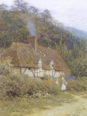 Cottage near Witley, Surrey by Helen Allingham