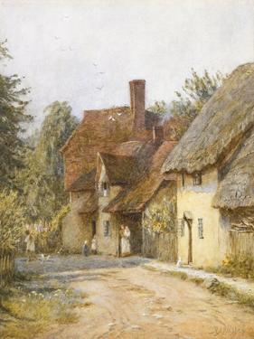 East Hagbourne, Berkshire by Helen Allingham