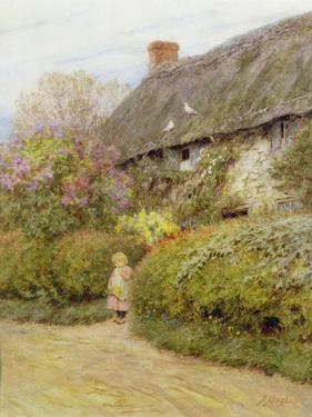 Freshwater Cottage by Helen Allingham