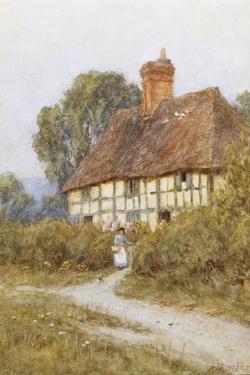 Going Shoppping by Helen Allingham