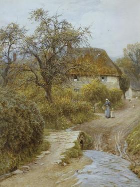 Hill Farm, Symondsbury, Dorset by Helen Allingham