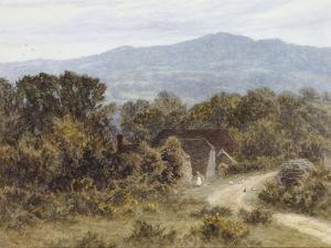Hindhead from Sandhills, Witley by Helen Allingham