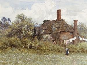 In the Spring by Helen Allingham