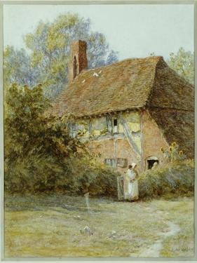 Near Westerham, Kent, 1900 by Helen Allingham