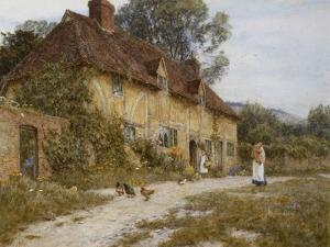 Old Kentish Cottage by Helen Allingham
