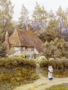 Pine Tree Cottage by Helen Allingham