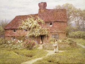 Rose Cottage, Shottermill by Helen Allingham