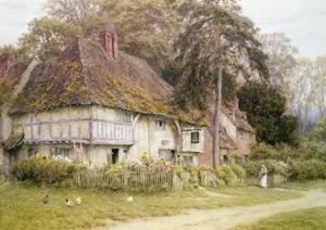 Six Bells, Hollingbourne, Kent by Helen Allingham