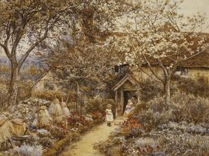 Springtime, 1883 by Helen Allingham