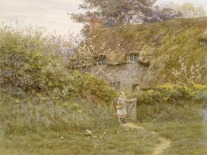 Springtime by Helen Allingham