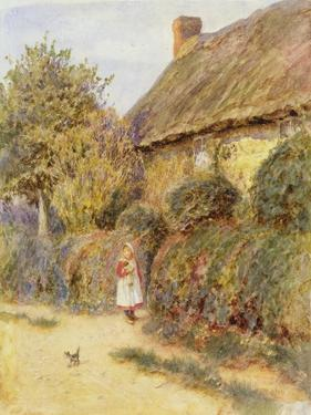 Straying by Helen Allingham