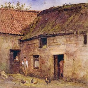 The Farmyard by Helen Allingham