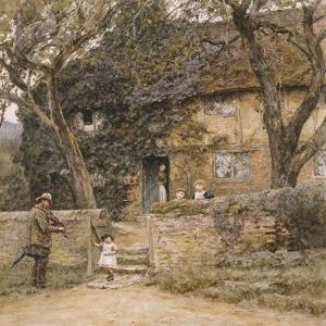 The Fiddler by Helen Allingham