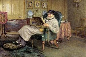 Thomas Carlyle (1795-1881) by Helen Allingham