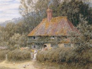Valewood Farm under Blackwood, Surrey by Helen Allingham
