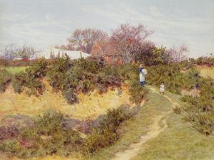 Washing Day at Sandhills, Witley by Helen Allingham