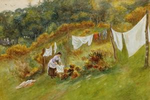 Washing Day by Helen Allingham