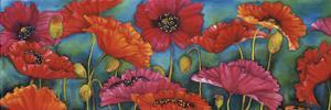 Poppy Parade by Helen Downing-Hunter