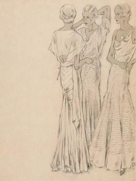 Vogue - April 1931 by Helen Dryden