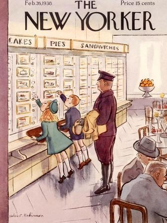 The New Yorker Cover - February 26, 1938
