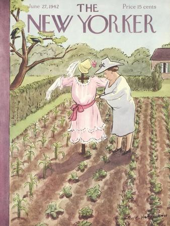 The New Yorker Cover - June 27, 1942