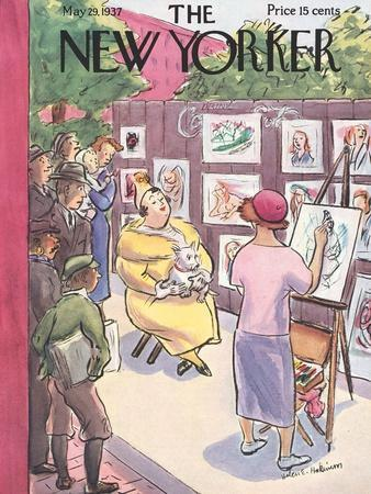 The New Yorker Cover - May 29, 1937
