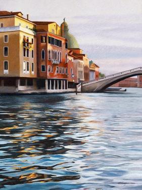 A Canal in Venice by Helen J^ Vaughn